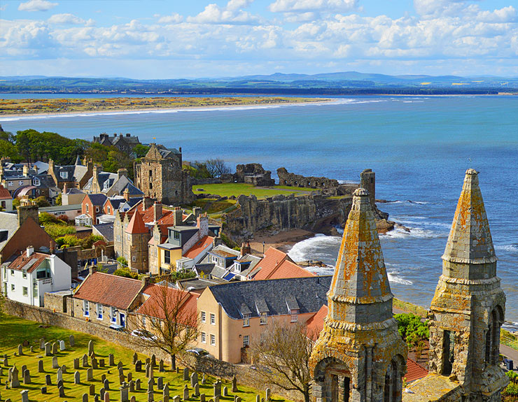 3-minute travel guide: St Andrews, Scotland